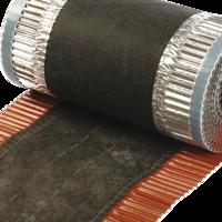 Hřebenový samolepící pás KRVENT 300 mm - 5bm, Hřebenový samolepící pás KRVENT 300 mm - 5bm cihlově červený