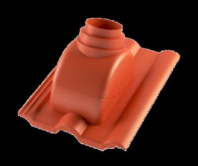 Taška prostupová s adaptérem pro odkouření turbokotle BETONPRES EXCLUSIV, cihlová