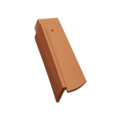 Tondach Bobrovka 18 x 38 segmentový řez - okrajová levá