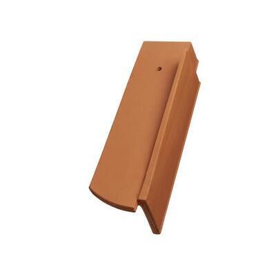 Tondach Bobrovka 18 x 38 segmentový řez - okrajová pravá