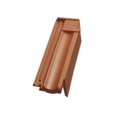 Tondach Falcovka 11 - pro připojení hřebene větrací okrajová pravá, režná