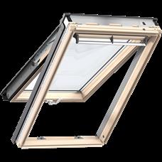 VELUX GPL 3068 / výklopně-kyvné/ dřevo s čirým lakem, GPL 3068 CK04 55x98 - 1