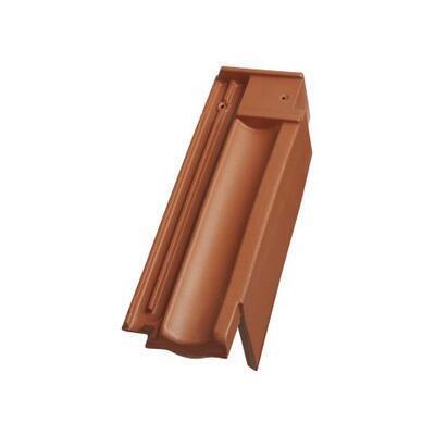 Tondach Stodo 12 - pro připojení hřebene větrací okrajová pravá, režná