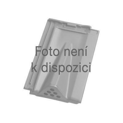 Tondach Bobrovka 18 x 38 segmentový řez - poloviční