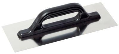 Hladítko rovné nerez 360 x 130 mm, plastová rukojeť