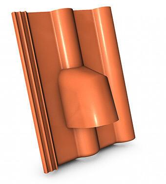 KMB BETA taška hadicových prostupů, ELEGANT cihlová - 1