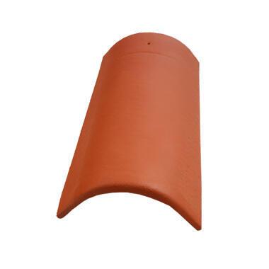 KMB hřebenáč (3,3 ks/bm), ELEGANT cihlová - 1