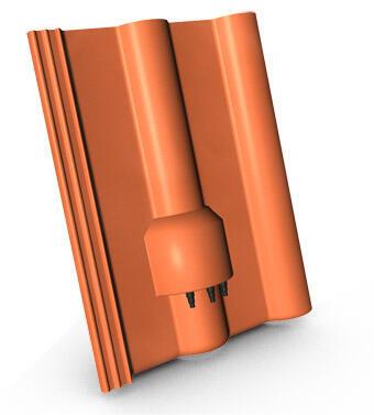 KMB BETA taška kabelových prostupů, ELEGANT cihlová - 1