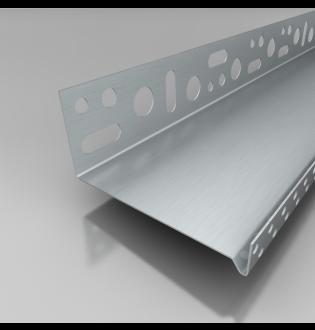 LOS - lišta obvodová 1 mm, LOS ALU 123 1/2000 - 1