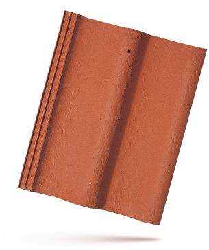 Moravská Taška - cihlově červená