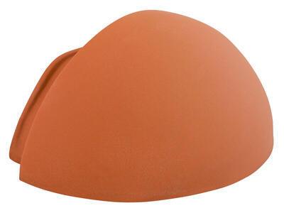 Koncový hřebenáč oblý PMZ, Přírodní červená - 1