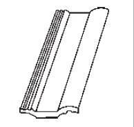 Classic Standard Taška půlená - černá