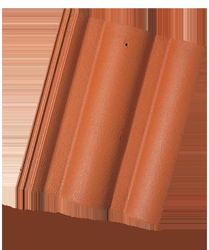 Římská Taška - cihlově červená
