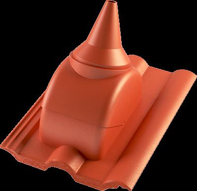 Taška prostupová s adaptérem pro anténní stožár BETONPRES ECONOMIC, cihlová