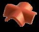 Hřebenáč rozdělovací X BETONPRES OPTIMAL, břidlicově černá - 1/3