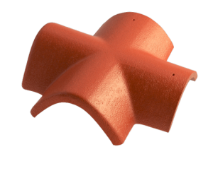 Hřebenáč rozdělovací X BETONPRES EXCLUSIV, červenohnědá - 1
