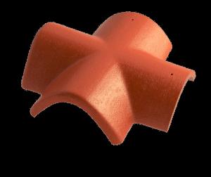 Hřebenáč rozdělovací X BETONPRES ECONOMIC, cihlová - 1