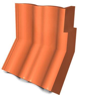 KMB HODONKA taška úžlabní okrajová pravá, ELEGANT cihlová - 1
