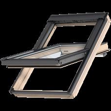 VELUX GGL 3068 / kyvné/ dřevo s čirým lakem, GGL 3068 CK02 55x78 - 2