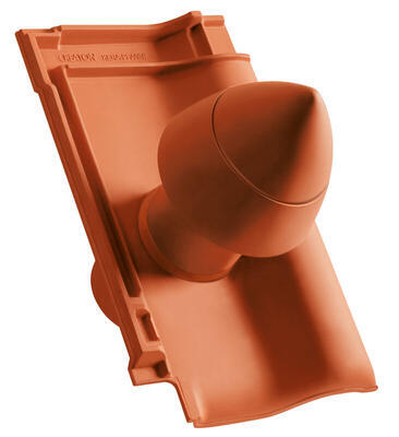Sanitární prostupová taška Ø 100 mm, Přírodní červená - 2