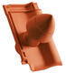 Sanitární prostupová taška Ø 100 mm, Přírodní červená - 2/2