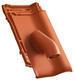 Solární prostupová taška Ø 70 mm včetně podstřešní průchodky, NUANCE měděně červená engoba - 2/2