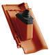 Anténní prostupová taška Ø 60 mm s pryžovou manžetou včetně podstřešní průchodky, Přírodní červená - 2/2
