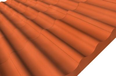 KMB HODONKA taška pultová základní (3,3 ks/bm), ELEGANT cihlová - 2
