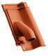 Solární prostupová taška Ø 70 mm včetně podstřešní průchodky, Přírodní červená - 2/2