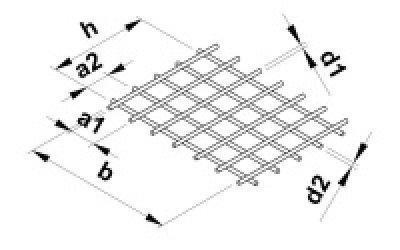 Kari sítě 5x100x100/2000/3000mm - 2