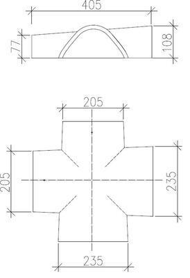 Hřebenáč rozdělovací X BETONPRES ECONOMIC, cihlová - 2